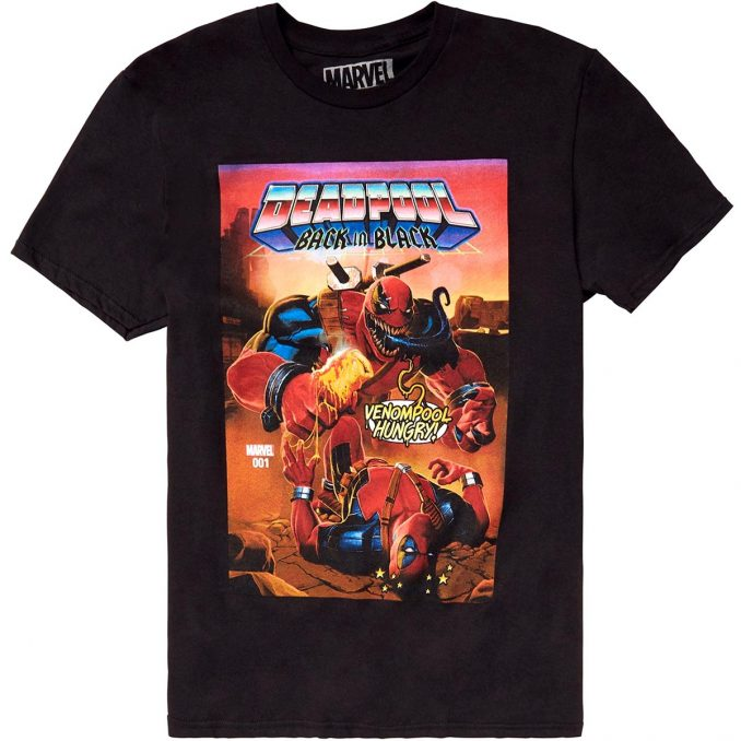 Marvel Deadpool Back In Black T-Shirt