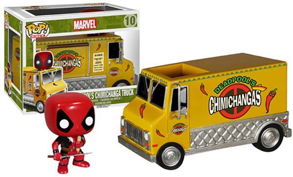 Marvel Deadpool Chimichanga Truck