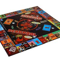 Marvel Deadpool Collectors Edition Monopoly Board Game