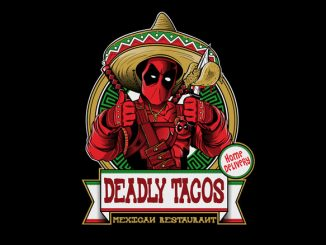 Marvel Deadpool Deadly Tacos T-Shirt