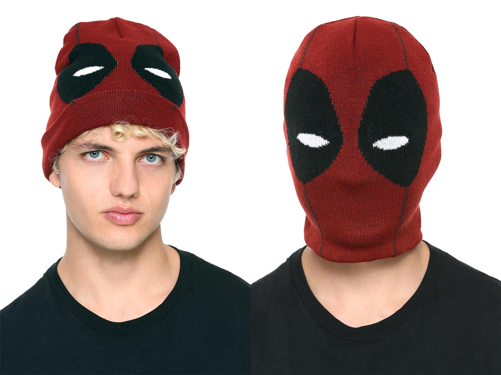 Marvel Deadpool Face Watchman Beanie