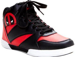 Marvel Deadpool Hi-Top Basketball Shoes