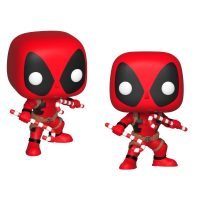 Marvel Deadpool Holiday Vinyl Bobble Heads