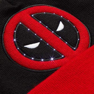 Marvel Deadpool LED Light-Up Beanie