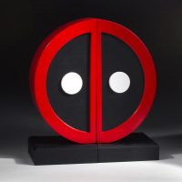 Marvel Deadpool Logo Bookends
