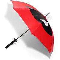 Marvel Deadpool Logo Katana Umbrella