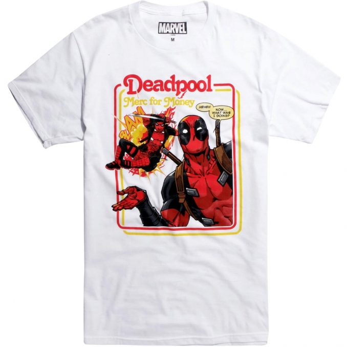 Marvel Deadpool Merc For Money T-Shirt