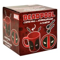 Marvel Deadpool Mug with Spoons