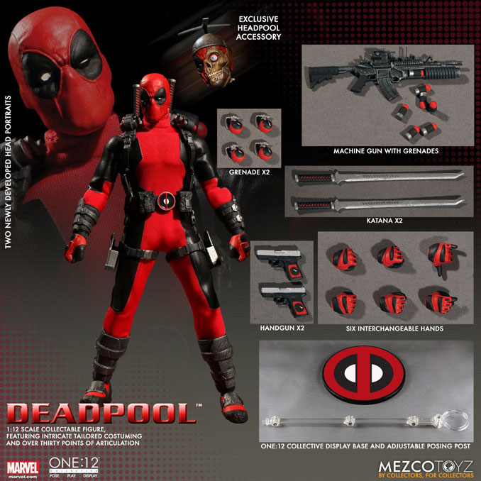 Marvel Deadpool One 12 Collective Action Figure