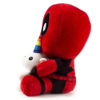 Marvel Deadpool Riding Unicorn Plush