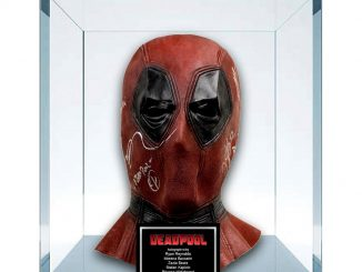 Marvel Deadpool Signed Replica Mask