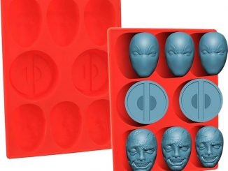 Marvel Deadpool Silicone Mold