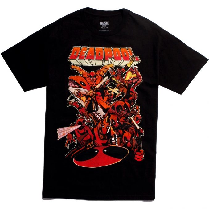 Marvel Deadpool So Many Deadpools T-Shirt