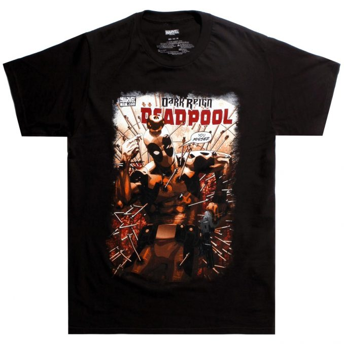 Marvel Deadpool You Missed T-Shirt