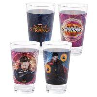 Marvel Doctor Strange 16 oz. Laser Decal Glass 2-Pack