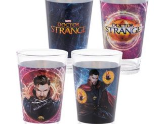Marvel Doctor Strange 16 oz. Laser Decal Glass 2-Pack