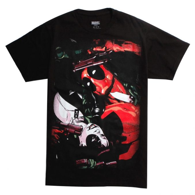 Marvel Domino and Deadpool T-Shirt
