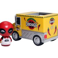 Marvel Dorbz Ridez Deadpool Chimichanga Truck