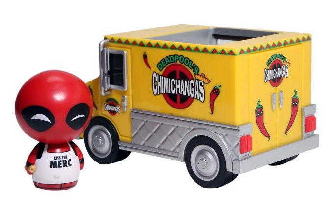 Marvel Dorbz Ridez Deadpool Chimichanga Truck