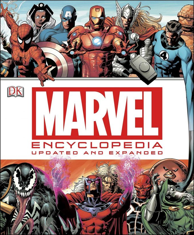 Marvel Encyclopedia Hardcover Book