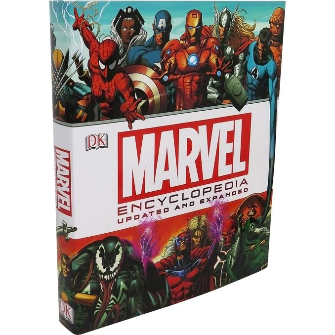 Marvel Encyclopedia Updated Expanded Hardcover Book