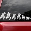 Marvel Family Superhero Car Decals