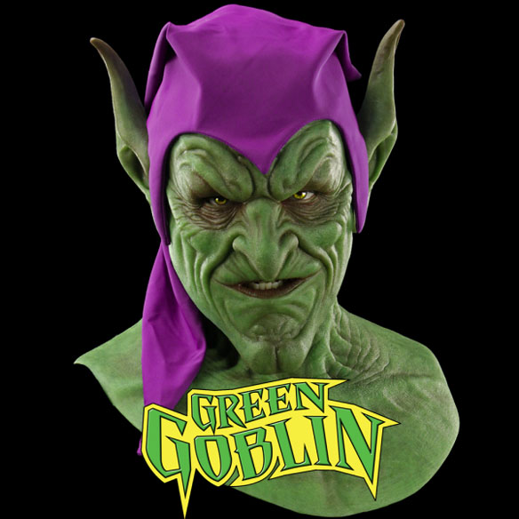 Marvel Green Goblin Silicone Mask