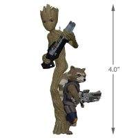 Marvel Groot and Rocket Hallmark Keepsake Ornament