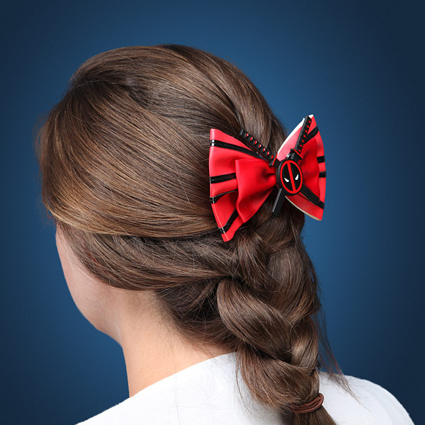 Marvel Comics Deadpool Hair Bow