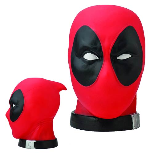 Marvel Heroes Deadpool Head Bank