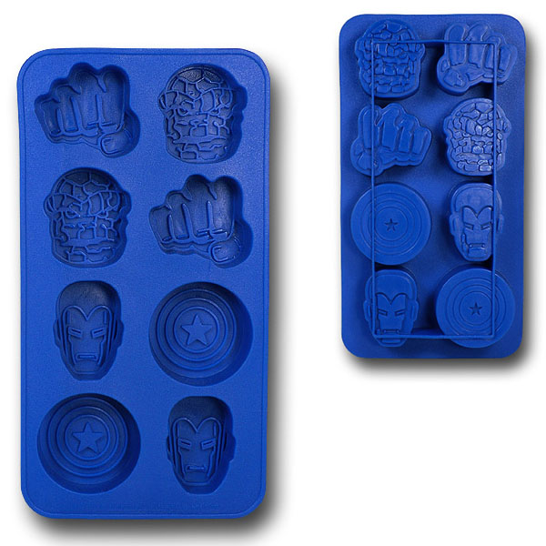 Marvel Heroes Ice Cube Tray