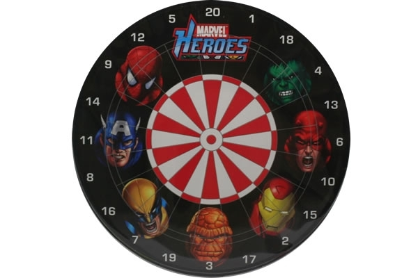 Marvel Heroes Magnetic Dartboard