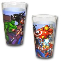 Marvel Heroes Pint Glasses