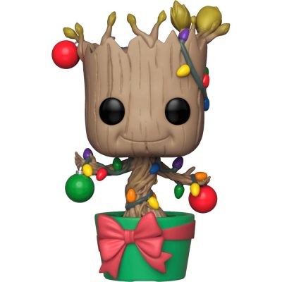 Marvel Holiday Groot with Lights Funko Pop Figure
