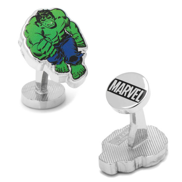Marvel Hulk Action Cufflinks