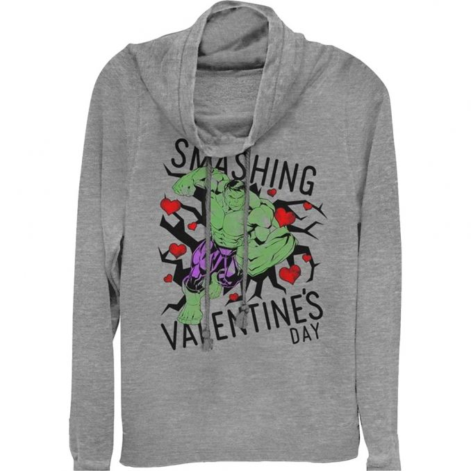 Marvel Hulk Valentines Day Sweatshirt