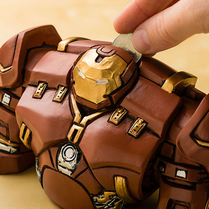Marvel Hulkbuster Bank