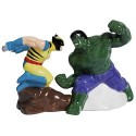 Marvel Incredible Hulk vs. Wolverine Salt and Pepper Set