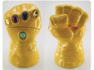 Marvel Infinity Gauntlet Cookie Jar