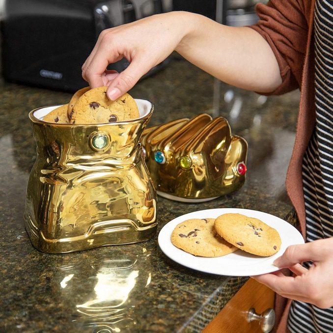 Marvel Infinity Guantlet Cookie Jar