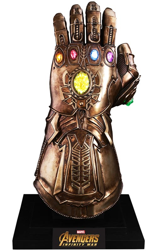 Marvel Infinity War Gauntlet Replica