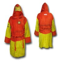 Marvel Iron Man Cotton Bathrobe