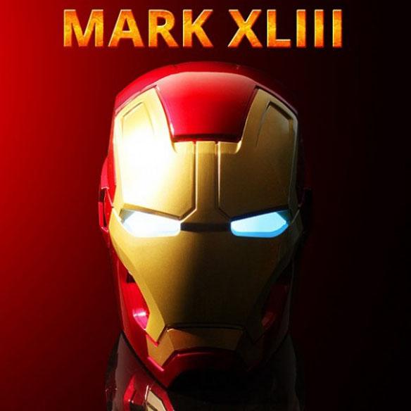 Marvel Iron Man Mark XLIII Bluetooth Speaker