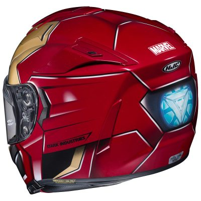 Marvel Iron Man Motorcycle Helmet
