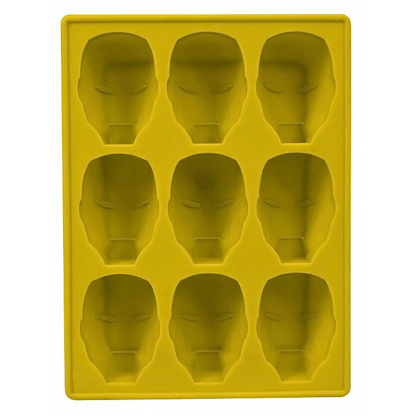 Marvel Iron Man Silicone Ice Tray