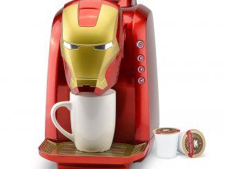 Marvel Iron Man Single Serve Coffee Maker
