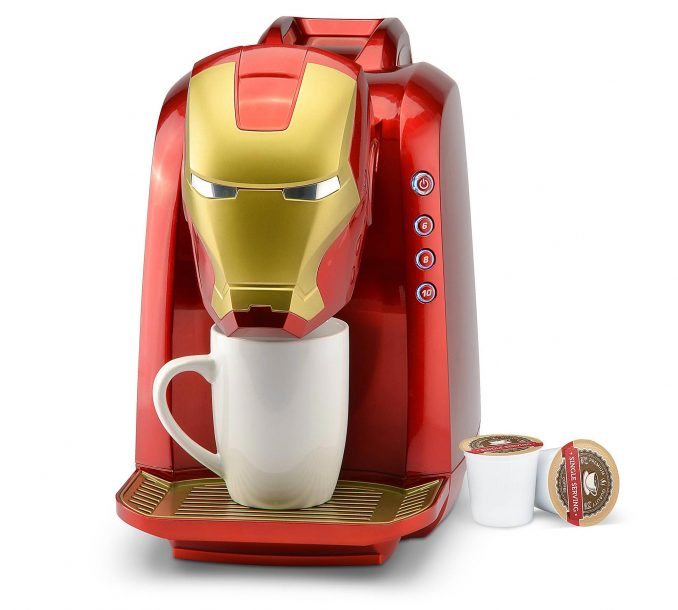 Marvel Iron Man Single Serve Coffee Maker