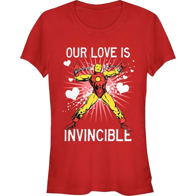 Marvel Valentines Day T Shirt