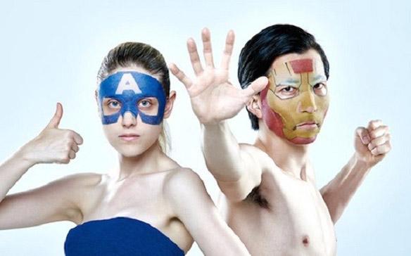 Marvel Iron Man and Captain America Skin Care Masks