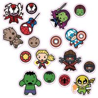 Marvel Kawaii Character Car Graphics Set 2
